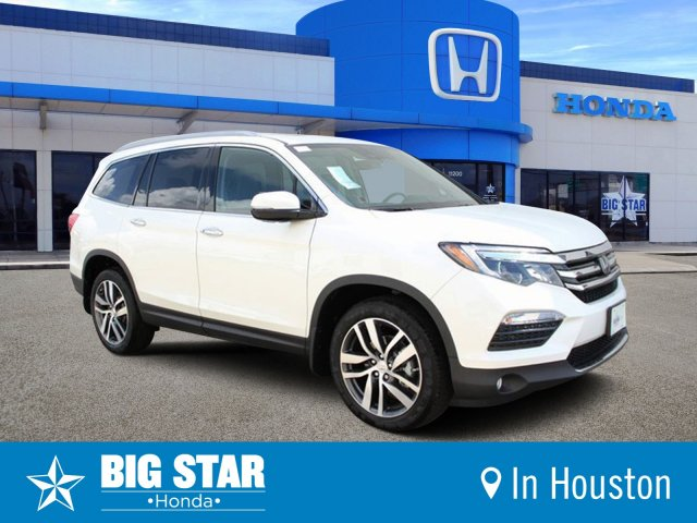 Honda Pilot 2018 >> New 2018 Honda Pilot Elite Sport Utility In Houston Jb007521 Big