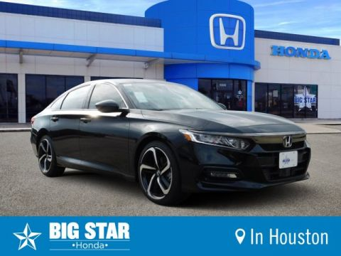 New 2019 Honda Accord Sedan Sport