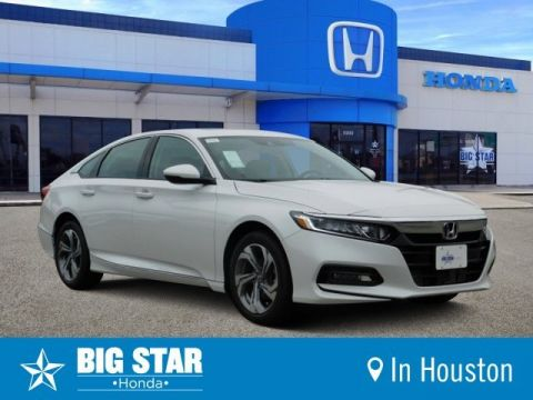 New 2019 Honda Accord Sedan EX-L